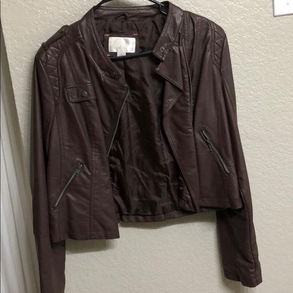 Xhilaration Jackets & Blazers - Leather jacket
